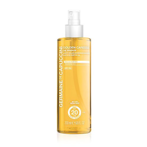 Golden Caresse Oil Bronze Express Suntan Oil SPF20