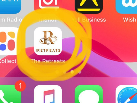 New Iphone & Android Retreats App