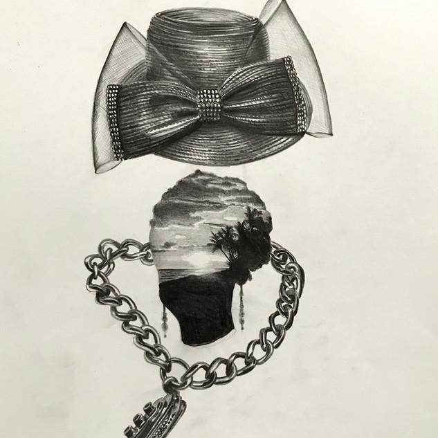 Church Hat And Chain