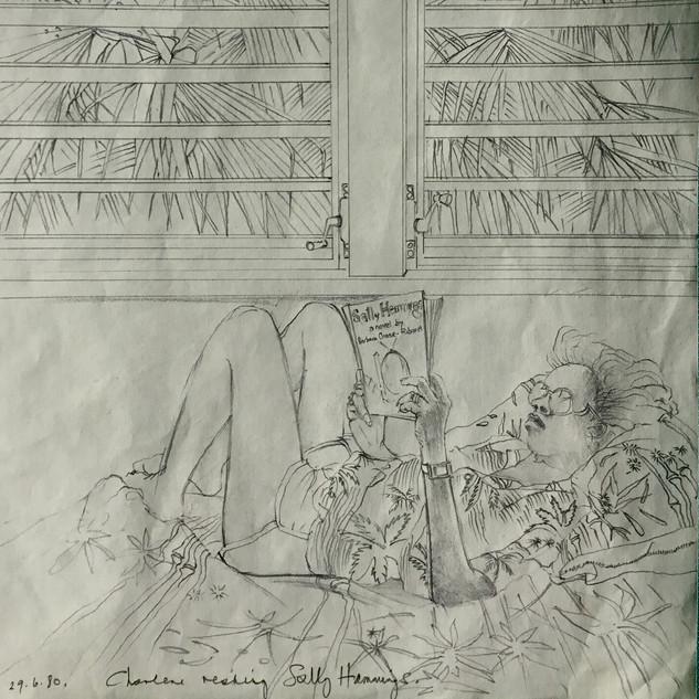 Charlene Reading Sally Hemmings