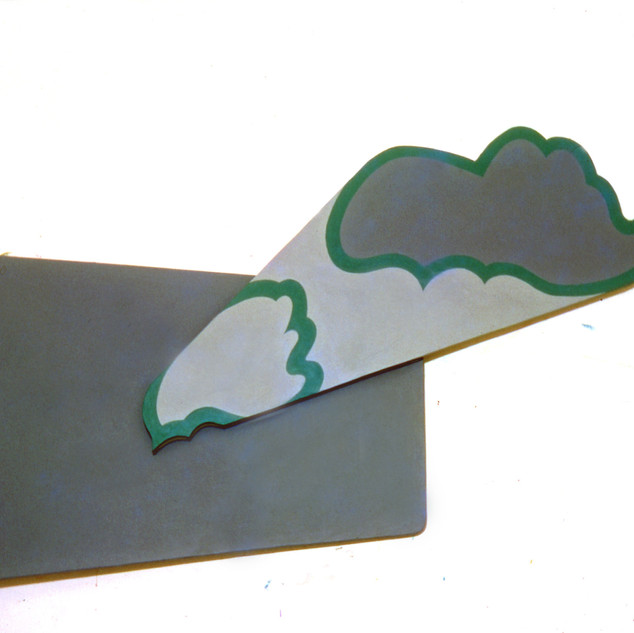1965 Oil on Shaped Canvas