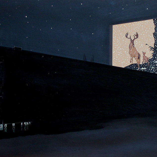 Bambi at the Drive-In