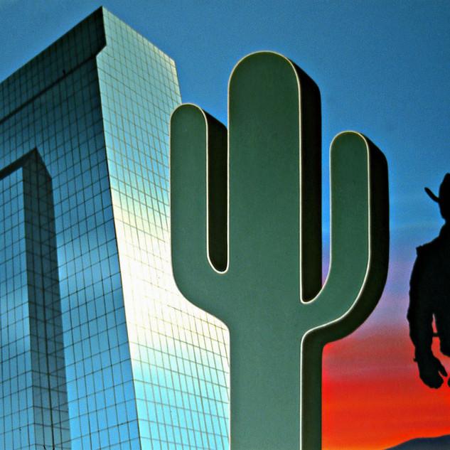 Condo, Cactus, Cowboy