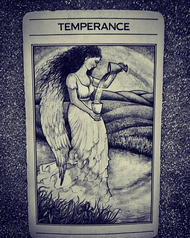 What the Cards Mean: Temperance