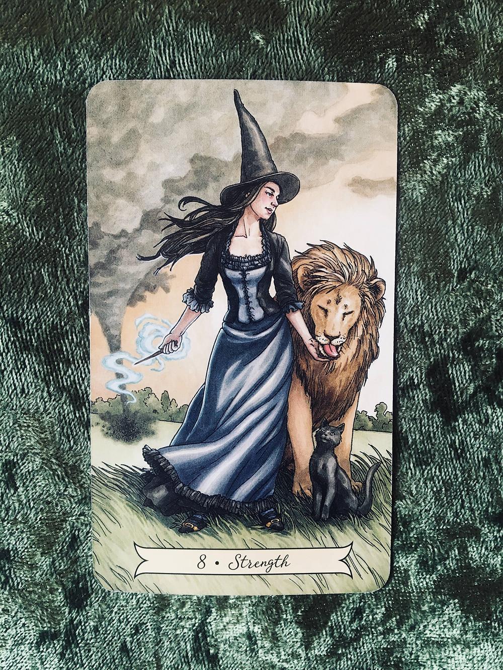 Tarot card meanings: Strength