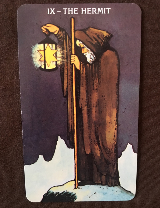 What the Cards Mean: The Hermit