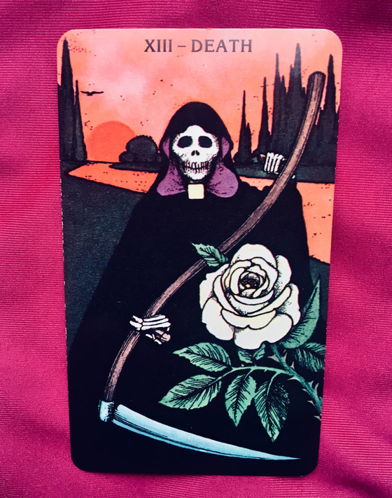 What the Cards Mean: Death