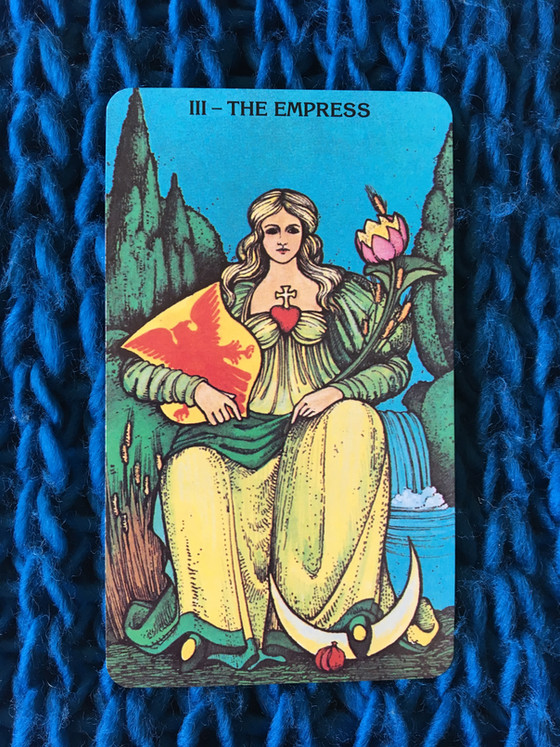 What the Cards Mean: The Empress