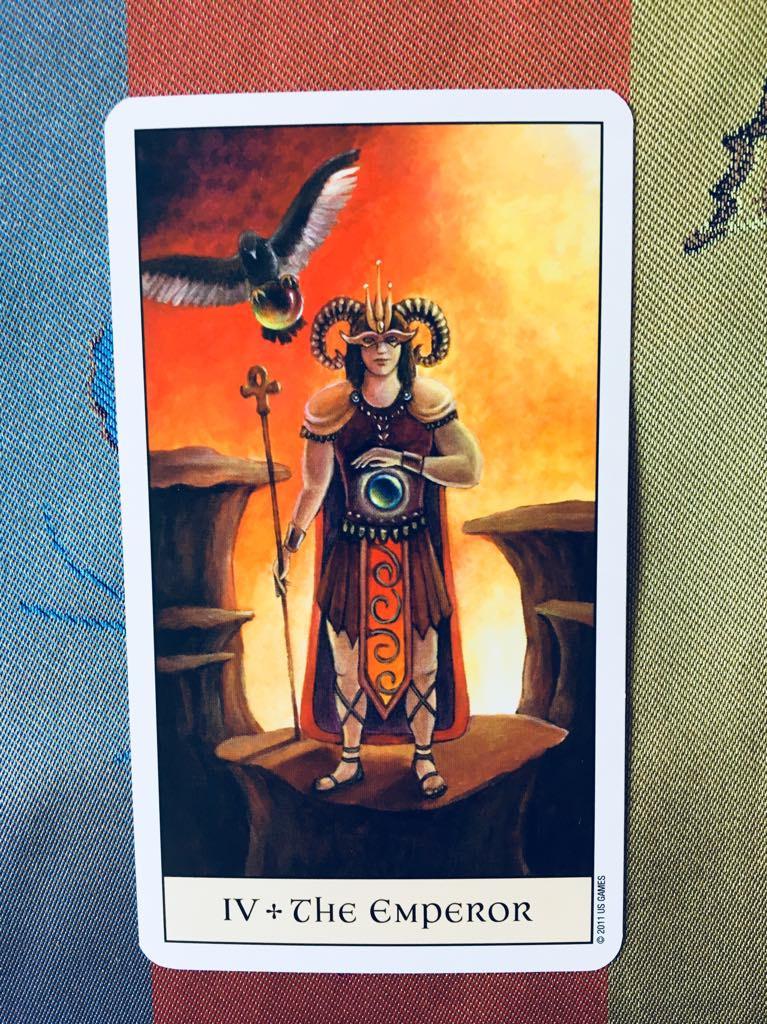 Tarot Cards: The Emperor