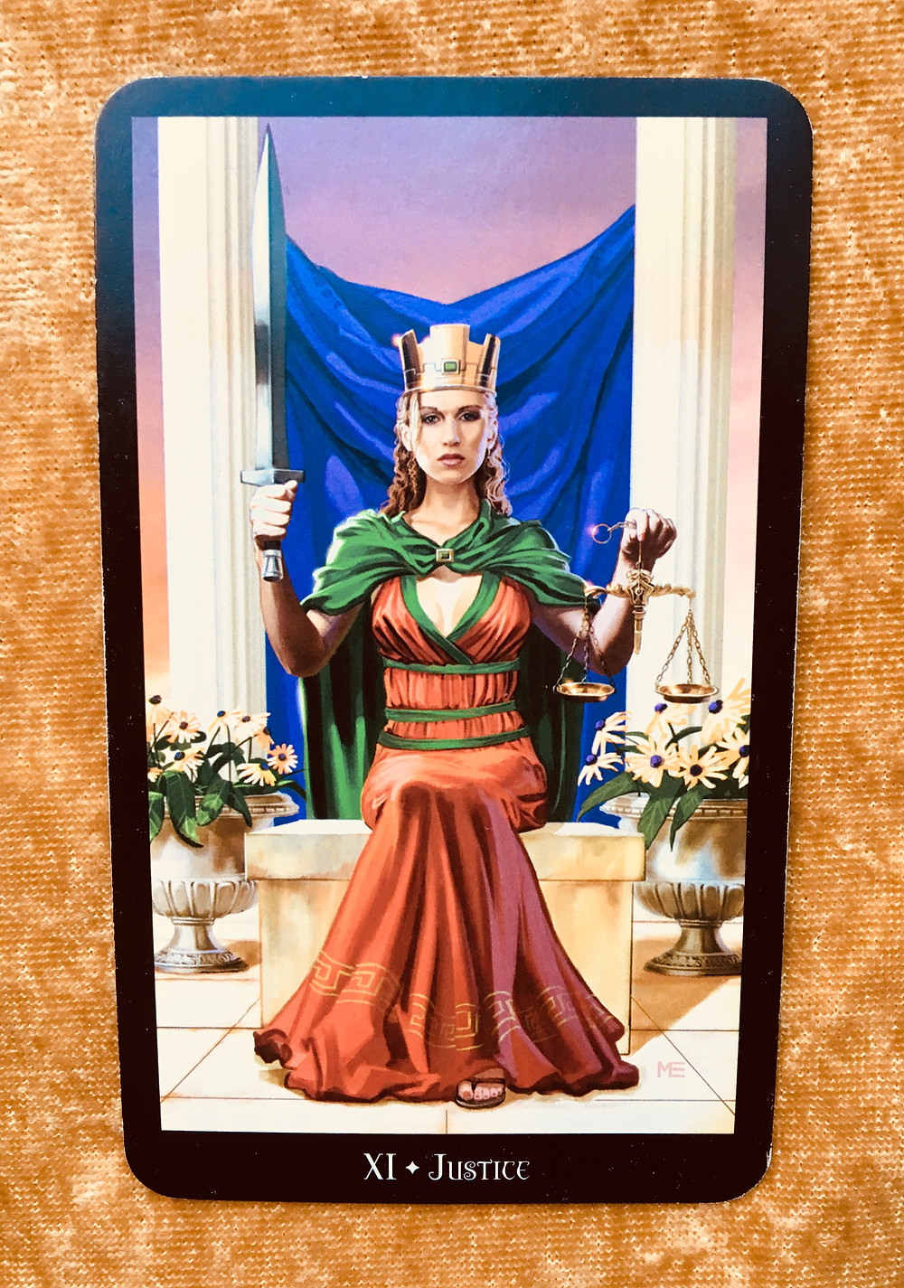 What the Tarot Cards Mean: Justice