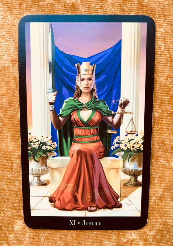 What the Cards Mean: Justice