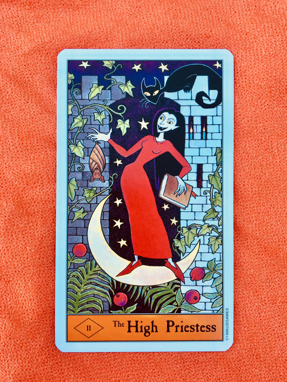 What the Cards Mean: The High Priestess