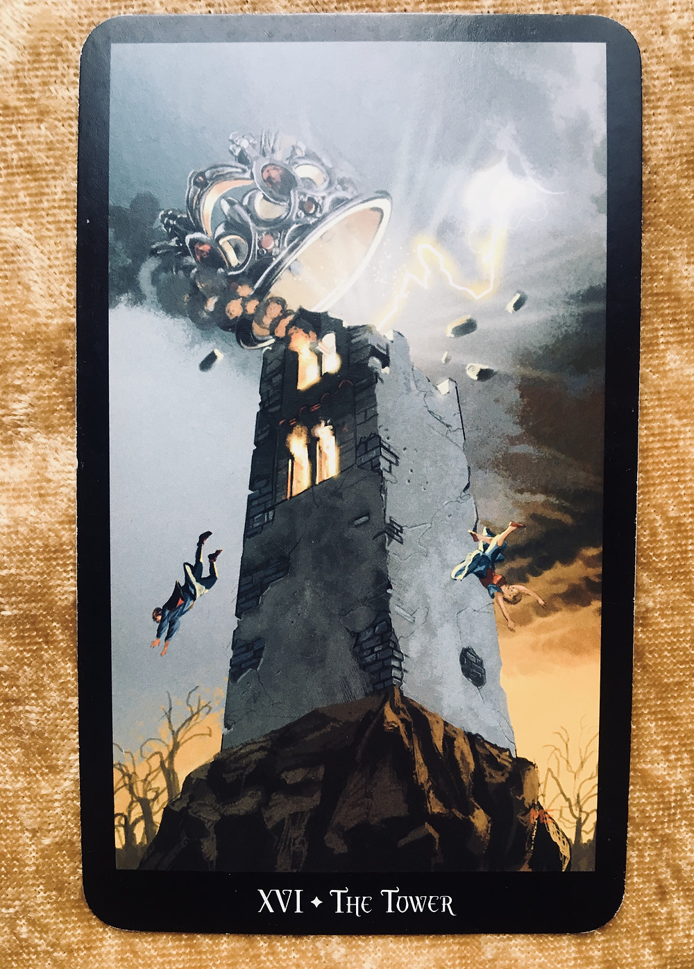 what the tarot cards mean: the tower