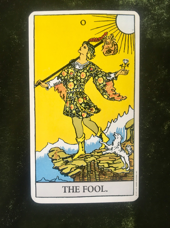 What the Cards Mean: The Fool