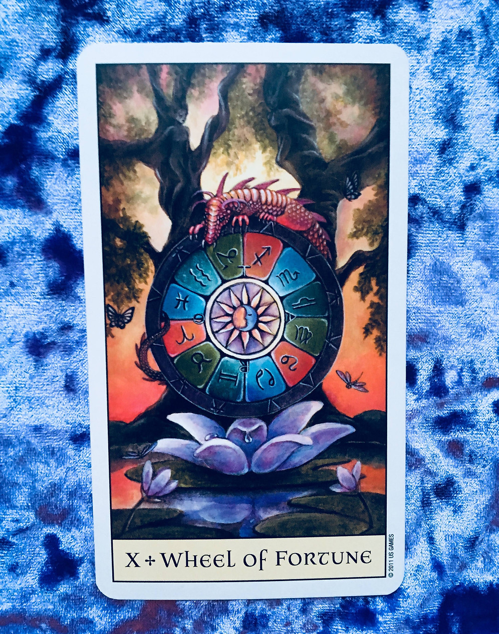 Tarot Card Meanings: The Wheel of Fortune
