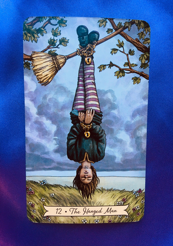 What the Cards Mean: The Hanged Man