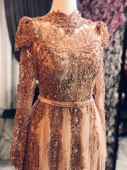 VASSAGO NO8 ROSE DRESS