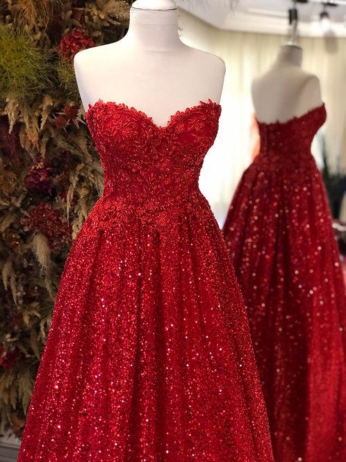VASSAGO RED HENNA DRESS H405