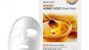 Тканевая маска-салфетка с эктрактом меда, 3W CLINIC