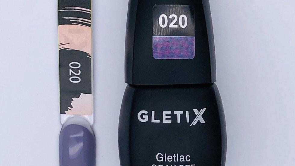 Гель-лак GLETIX 020 10 мл