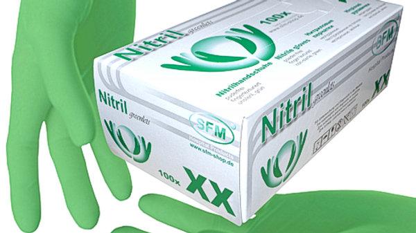 SFM ® GREENLETS Нитриловые  перчатки F-tex
