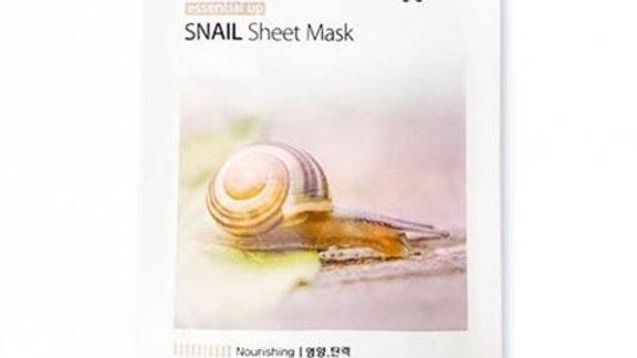 Тканевая маска с улиточным муцином 3W Clinic