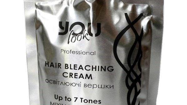 Осветляющие сливки до 7 тонов You Look Professional Hair