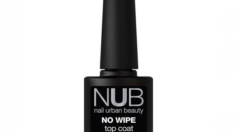 NUB No Wipe Top Coat - закрепитель для гель-лака БЕЗ липкого слоя, 8 мл