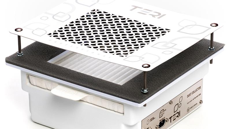 Маникюрная вытяжка встраиваемая в стол Teri 600 с HEPA фильтром.