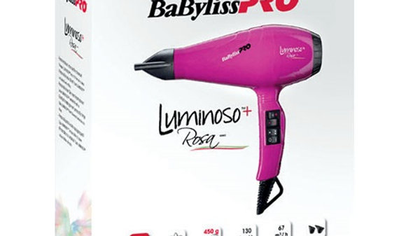 Профессиональный фен BaByliss PRO Luminoso+ Bianco BAB6360IE