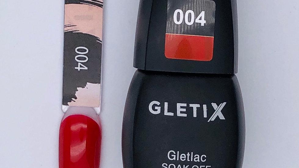 Гель-лак GLETIX 004 10 мл