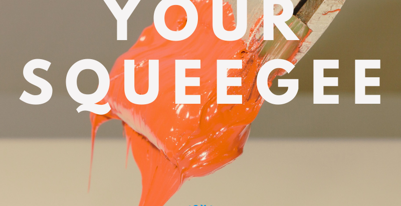 Caring For Your Squeegees