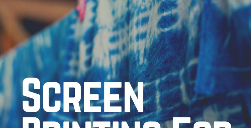 Screen Printing For Tie Dye