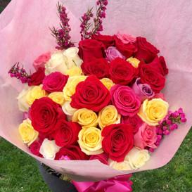 50 Mix Roses