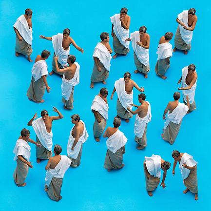 'Sócrates / héroes del pensamiento'