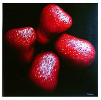 2002 serie 'bodegón' óleo/tela 100x100 cm