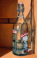 'espacio con botella'