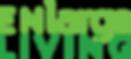 Final logo - Enlarge Living green.png