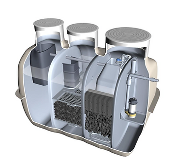 Water Filter Man Tamworth | Fuji Clean Domestic Wastewater Treatment System
