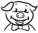 A Pig head logo