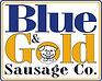 Blue & Gold Sausage Logo
