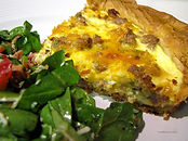 Egg Sausage Quiche