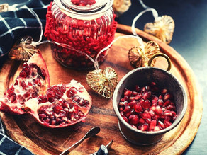 Did 'pomegranate' left over from the New Year's Eve? /  DIY creations!