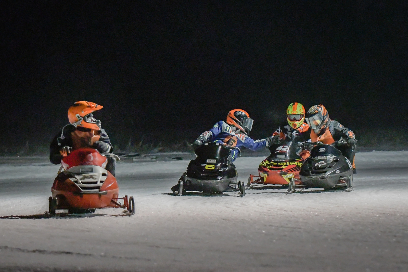 Gallery | Kids Pro Ice Snowmobile Racing