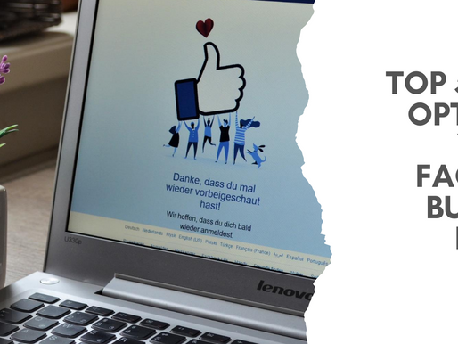 Top 5 Tips for Optimising Your Facebook Business Page – Part 1