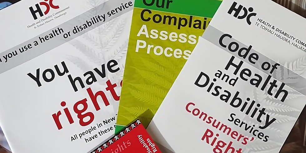 Code of Health and Disability Services Consumers' Rights