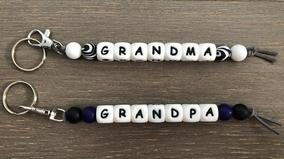 Grandparent Keychain