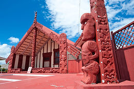 meetinghouse-Maori-village-Ohinemutu-Rot