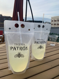 The Rooftop Bar Patron Pouch