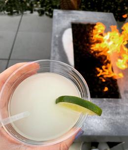 Rooftop Bar Firepit